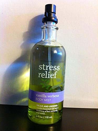 Bath and Body Works Aromatherapy Body Mist Stress Relief - Vanilla Verbena