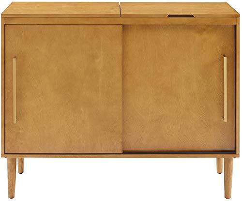 Crosley Furniture Everett Media Console In Acorn Finish
