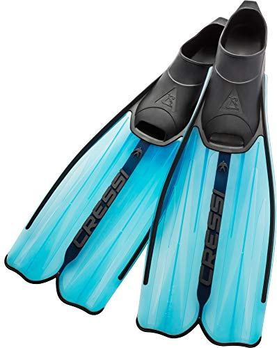 Cressi Rondinella, blue, 37/38 (Flippers Diving Long)