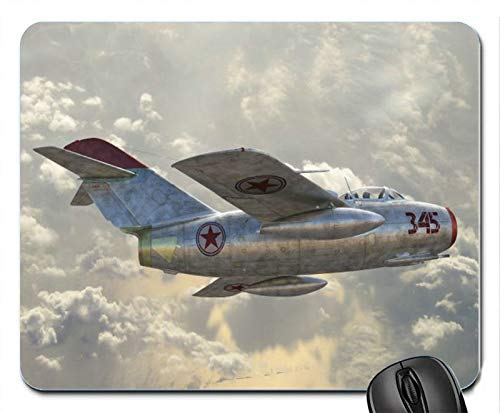 Soviet Fighter The MiG-15 Air Force Jet Military Mouse Pad Mats Mousepad Hot Gift
