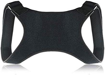 猫背矯正ベルト 脱着簡単 調節可能 姿勢コレクターブレースブレース女性ストレイテナー戻るコルセットテープ調節可能な理学療法ブラック 日常 便利 防具 肩こり解消 巻き肩 美姿勢 補正サポーター 子供 大人 男女兼用