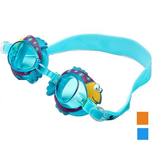 Lerben New Colorful Animal designer Adjustable Anti-fog Water-proof Kids Children Swimming - Goggles Swimming Designer