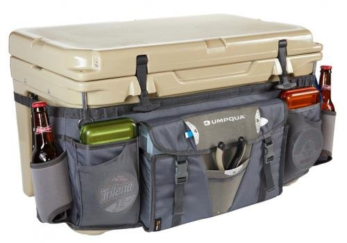 Boat Fishing Fly Drift - Umpqua Cooler Gater ZS Granite