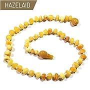 Hazelaid (TM) 12  Pop-Clasp Baltic Amber Super Butter Necklace