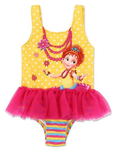(Toddler Girl Fancy Nancy One Piece Swimsuit 3T )