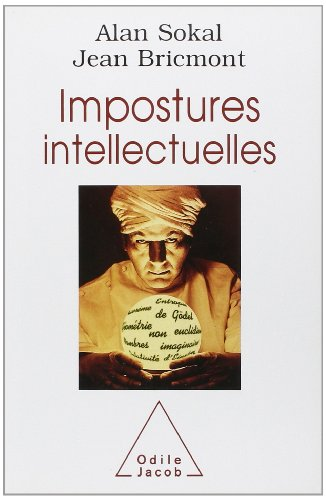 Impostures Intellectuelles (French Language Edition) by Odile Jacob