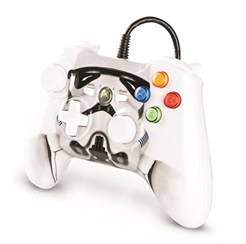 Xbox 360 Star Wars Storm Trooper Wired Controller (Xbox 360 Starwars Controller)