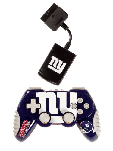Playstation 2 New York Giants Wireless Game Pad -