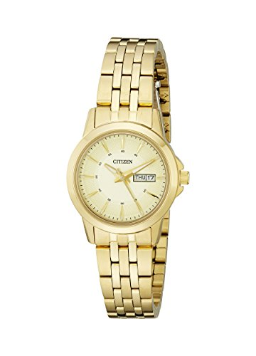Citizen Women's EQ0603-59P Analog Display Japanese Quartz Gold Watch