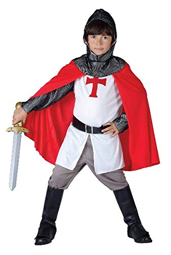 [Large Boys Crusader Costume] (Top 10 Fancy Dress Costume Ideas)
