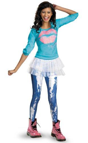 Good Trio Halloween Costumes (Disguise Disney Shake It Up Rocky Season 2 Classic Tween Costume, 7-8)