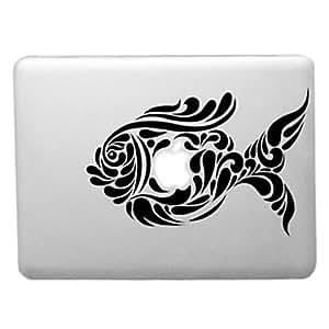 """ZCL- trabajo artístico de patrón de pesca de la caja dura de la PC transparente para el aire del macbook (colores surtidos) , Azul , 11.6"""""""