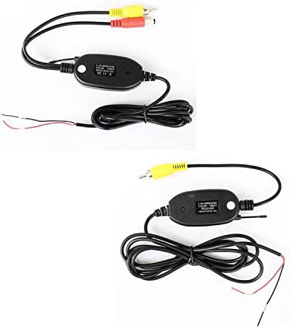 2.4Ghz Wireless Rear View Video Transmitter /& Receiver For Car Camera Monitor