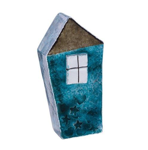 Caithness Glass Sarah P Art Glass Our House Briefbeschwerer, Blau B00EKKEDQ8   Niedriger Preis und gute Qualität