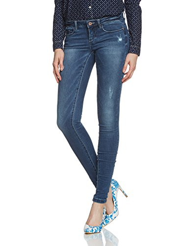 Only Onlcoral Sl Sk Dnm Jeans Bj5001-3 Noos - Vaqueros Mujer Azul (Medium Blue Denim)