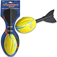 Thin Air Brands Whistle Football - Makes Whistling Sound When Thrown - Made of Durable Foam Materials - for Bo