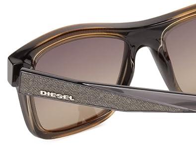 Diesel Unisex-Erwachsene Sonnenbrille DL0071 5520B, Braun, 55