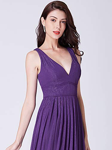 Violet De pretty B col Longue Soirée 09016 V Robe Ever Mousseline EvFqxPE