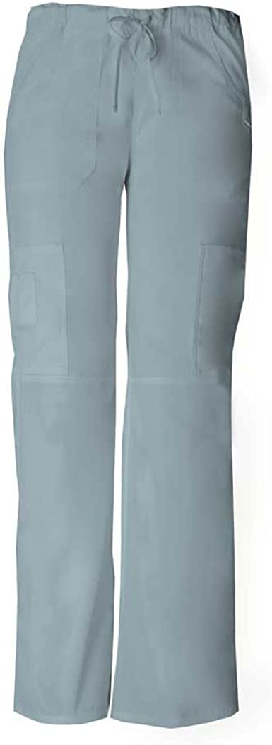 Dickies Contemporary Low Rise Drawstring Scrub Pants XL MSRP $24.99 Pewter