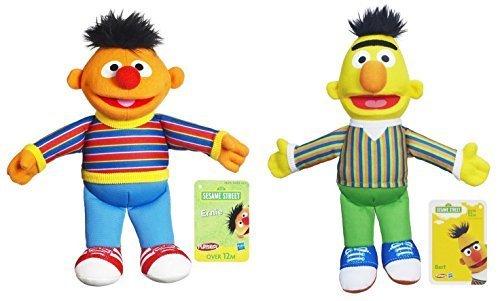 Playskool Sesame Street Pals Bert and Ernie 10 Inch Plush Bundle (Bert Plush)