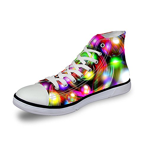 Kramar Idé Färgglada Mode Kvinna Kängor Tygskor Sport Sneakers Coloful 4