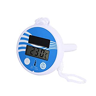 Large Floating Pool Thermometer Premium Water Temperature Thermometers,Solar Energy,Waterproof, for All Outdoor & Indoor Swimming Pools, Spas, Hot Tubs, Aquariums & Fish Ponds (Big)