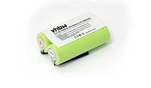 Batería NiMH 2000mAh 2.4V para afeitadoras y cepillos Philips ...