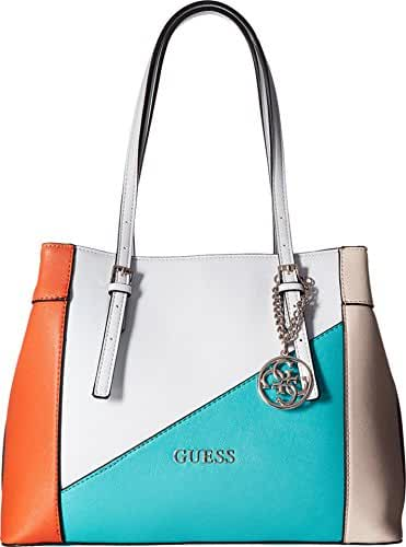 GUESS Delaney Shopper-Turquoise Multi