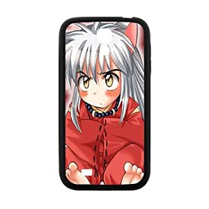Inuyasha red cloth girl Cell Phone Case for Samsung Galaxy S4