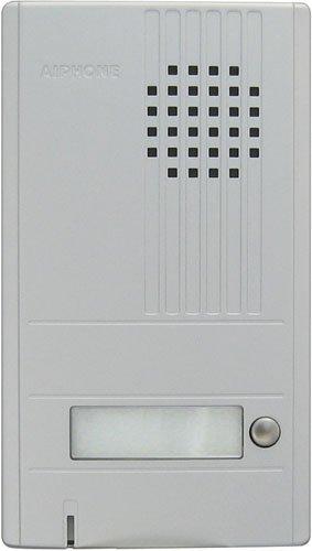Aiphone Corporation DA-1DS 1-Call Audio Entrance Station for DA Series, ABS Plastic Construction, 6-7/8