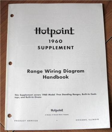 Hotpoint 1960 Supplement Range Wiring Di - Freestanding Cooktop Shopping Results