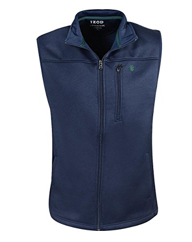IZOD Mens Advantage Performance Spectator Fleece Vest