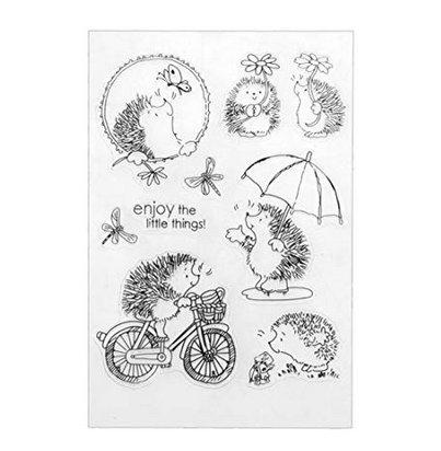 1 ZK.Nesi DIY Arte de Clip Tarjeta de Arte /Álbum Navidad DIY Sello de sSilicona Clara sello de /álbum de Recortes en Relieve Decoraci/ón del /álbum