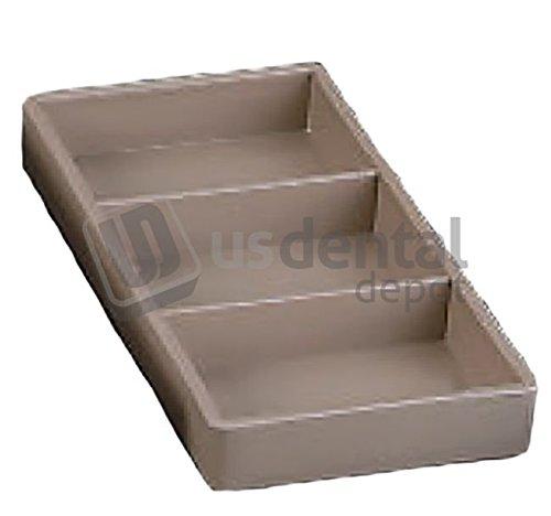 PLASDENT - Cabinet Organizer - # 300CR17 - Dim: 8 Inches L x 4 Inches W x 1 Inch H - Size 17 E/A - Colors: White - Blue - Beige & Mauve Only - Autoclavable 001-300CR17 DENMED Wholesale