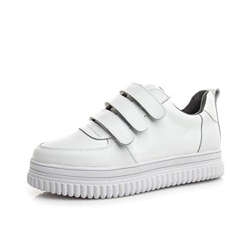 KPHY-La Nueva Plataforma Zapatos De Plataforma Zapatos Calzado Casual Zapatos De Mujer Zapatos Blancos. Blanco Treinta Y Ocho Thirty-six