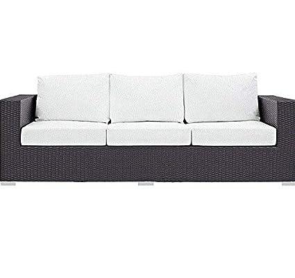 Amazon.com : LeisureMod Modern Patio Furniture Outdoor Wicker Set ...