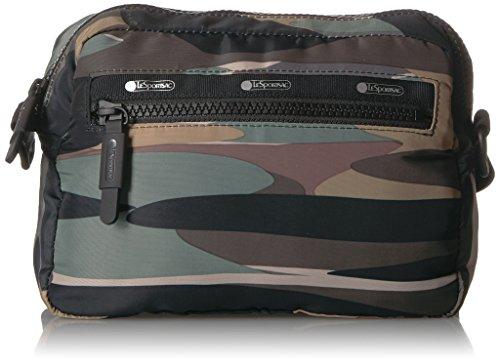 LeSportsac Women's Travel Convertible Belt Bag, Passport Camo t