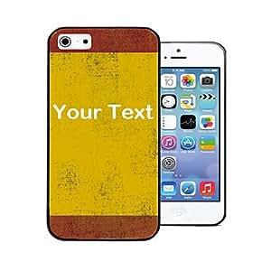 TY- Firma personalizada Regalo rojo-amarillo Patrón de nuevo caso para el iPhone 4/4S ,