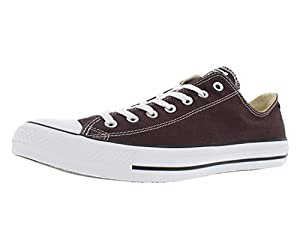 Converse Men's Chuck Taylor Low Top Sneaker Burnt Umber 12 M