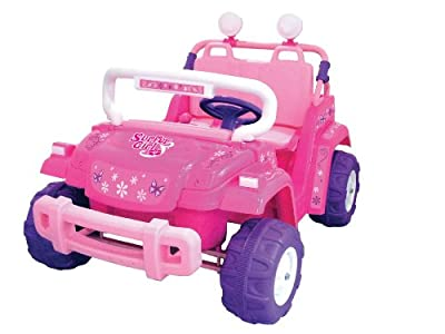 National Products 12v Surfer Girl Battery Operated Ride-on from National Products