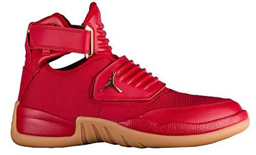 Nike Jordan Men's Generation 23 Basketball Shoes-Gym Red/Metallic Gold-12