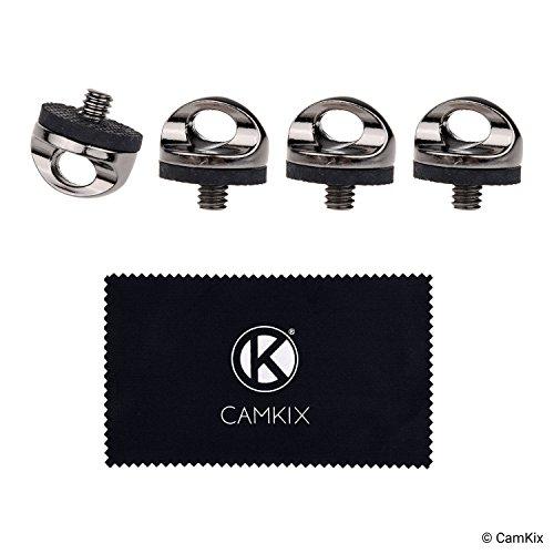 Install Camera Tripod Attach Straps