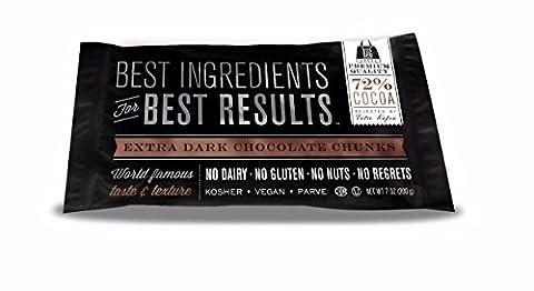 Callebaut Extra Dark Chocolate Chunks - (4 Pack) - Cocoa Extra Dark Chocolate