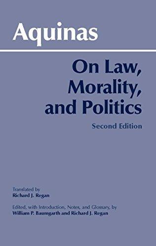 On Law, Morality and Politics, 2nd Edition (Hackett Classics) by Thomas Aquinas (2003-06-03)