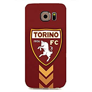 With Torino FC Logo Case For Samsung Galaxy S6 Edge Durrable Protector Case Plastic Hot Image