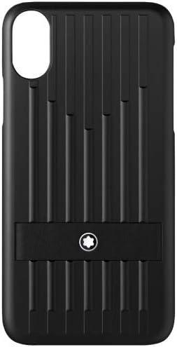 Montblanc My Montblanc Nightflight Étui Rigide pour Apple iPhone XS Noir 14 cm