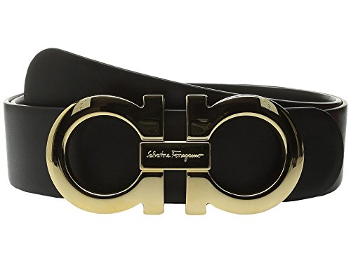 Salvatore Ferragamo Women's Ceylon Belt Nero 95 (38'' Waist) by Salvatore Ferragamo