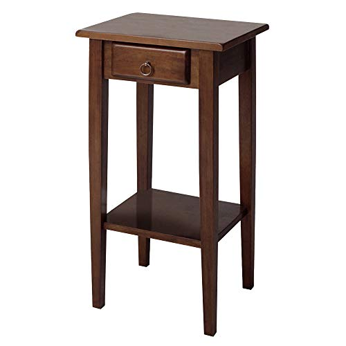 (Winsome Wood 94430 Regalia Accent Table, Walnut)
