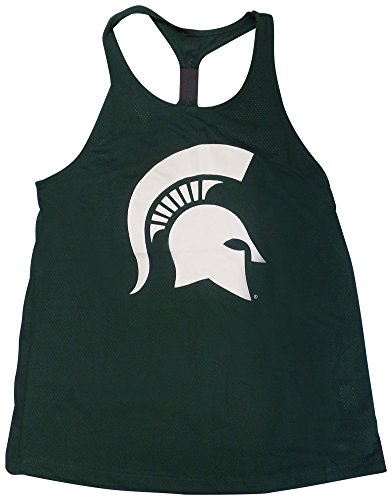 Michigan State Spartans Women's Preliminary Mesh Tank Top Large