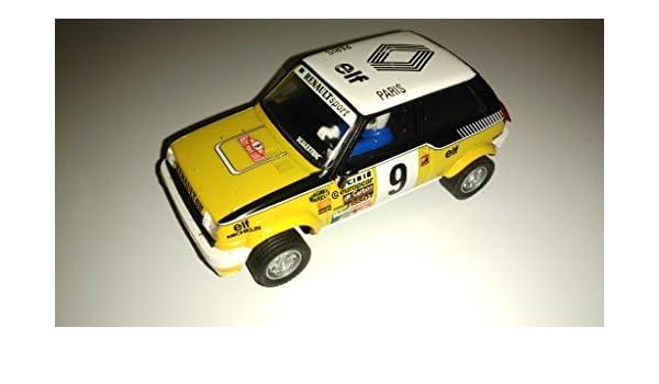 Scalextric renault 5 copa colección planeta coches miticos: Amazon.es: Juguetes y juegos